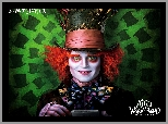 Johnny Depp, Aktor, Alicja w Krainie Czarów, Film, Alice in Wonderland