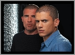 Wentworth Miller, Dominic Purcell, Skazany na śmierć, Prison Break, Bracia