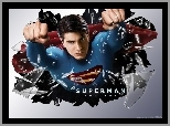 Brandon Routh, pięści, Superman Returns, szkło