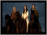 Bruce Spence, Miecz Prawdy, Konie, Craig Horner, Legend of the Seeker, Bridget Regan