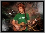 Piosenkarz, Edward Christopher Sheeran, Ed Sheeran, Gitara
