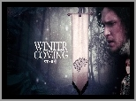 Jon Snow - Kit Harington, Motto, Game of Thrones, Gra o tron, Herb