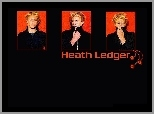Heath Ledger, blond włosy
