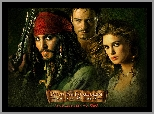 Keira Knightley, Aktor, Piraci z Karaibów, Orlando Bloom, Aktorka, Pirates of the Caribbean, Johnny Depp