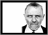 krawat, Anthony Hopkins, broda