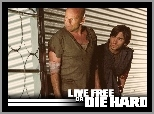 Bruce Willis, Live Free Or Die Hard, Justin Long