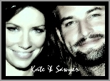Evangeline Lilly, Josh Holloway, Lost, Serial, Zagubieni