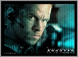 Mark Wahlberg, mikrofon, Shooter, twarz