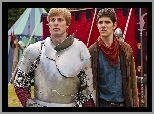 Artur - Bradley James, Merlin - Colin Morgan, Przygody Merlina, Serial, The Adventures of Merlin