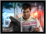 Michael C. Hall, Dexter, Gazeta
