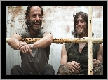 Norman Reedus, Rick Grimes, Serial, Andrew Lincoln, Aktorzy, The Walking Dead, Żywe trupy, Daryl Dixon