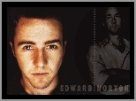 opalony, Edward Norton, oczy
