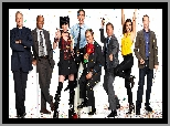 Mark Harmon, Michael Weatherly, Agenci NCIS, Serial, Cote De Pablo