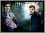 The Vampire Diaries, Paul Wesley, Pamiętniki wampirów, Ian Somerhalder