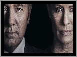 Aktor, Serial, Robin Wright, Aktorka, House of Cards, Kevin Spacey