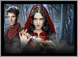 Sztylet, Morgana - Katie McGrath, The Adventures of Merlin, Przygody Merlina, Merlin - Colin Morgan