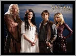 Bruce Spence, Miecz Prawdy, Tabrett Bethell, Craig Horner, Legend of the Seeker, Bridget Regan