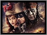 Aktorzy, The lone ranger, Film, Johnny Depp