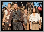 Toby Stephens, Billy Bones, Kapitan Flint, Serial, Tom Hopper, Długi John Silver, Piraci, Black Sails, Luke Arnold