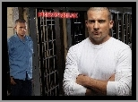 Wentworth Miller, kraty, Skazany na śmierć, Prison Break, Dominic Purcell