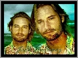 zarost, Josh Holloway, Lost, Serial, Zagubieni