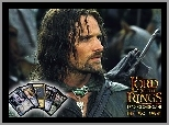 Viggo Mortensen, karty, The Lord of The Rings, zbroja