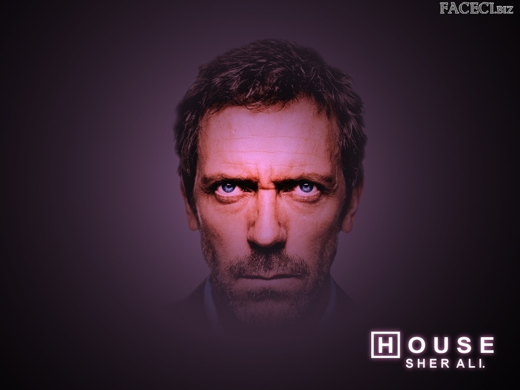 Głowa, Dr. House, Hugh Lauriego